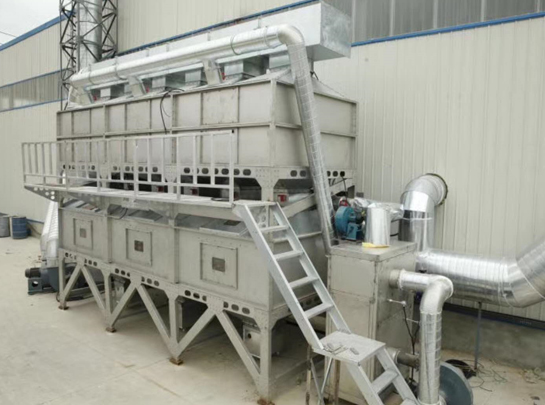有機廢氣催化燃燒設備