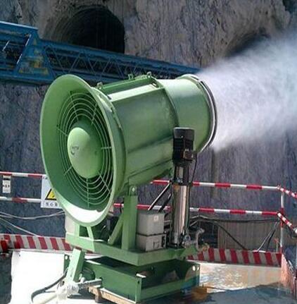 多功能灑水設備降溫霧炮機